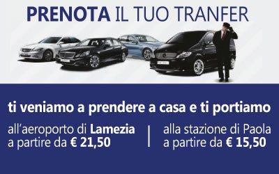 Servizio navetta Lamezia Terme - Cosenza - Paola
