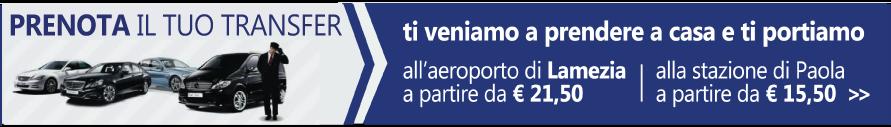 Servizio Navetta TopClass - Cosenza - Lamezia - Paola