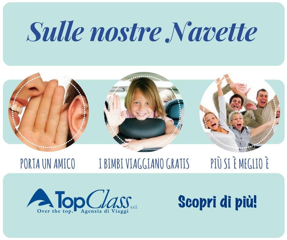 Navetta TopClass - Cosenza, Lamezia Terme, Paola
