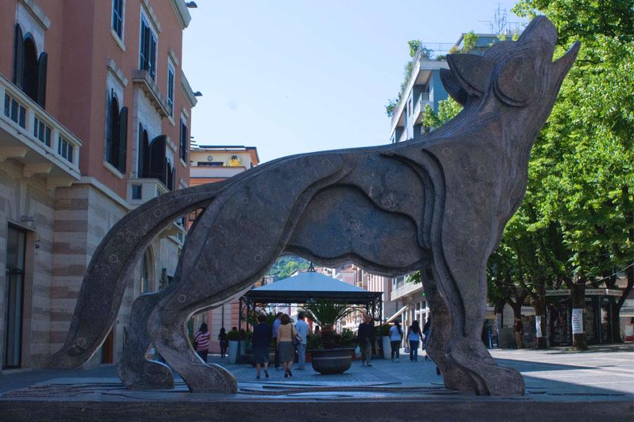 Scultura Corso Mazzini